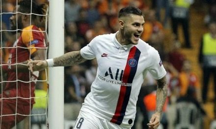 Icardi's first PSG goal earns victory at Galatasaray