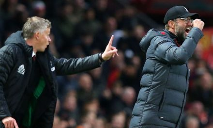 Liverpool boss 'Klopp' says Man Utd came with defence!!