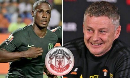 Odion Ighalo: Manchester United sign striker on loan