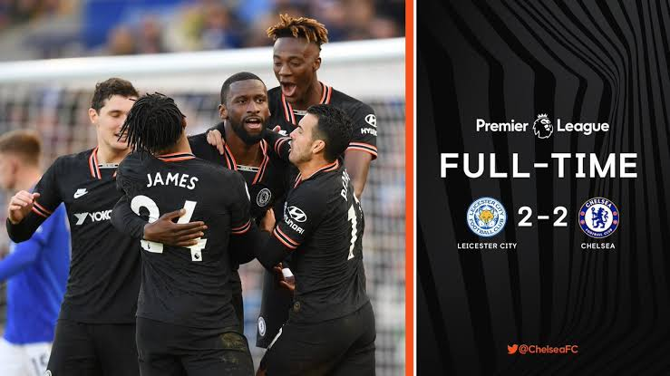Leicester 2 – 2 Chelsea
